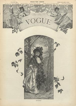 Cover for the November 1 1900 issue