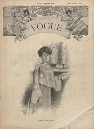 Cover for the January 1 1903 issue