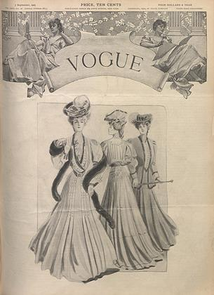 Cover for the September 7 1905 issue