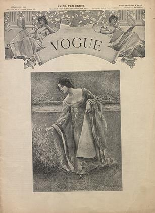 Cover for the September 28 1905 issue