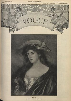 Cover for the November 30 1905 issue