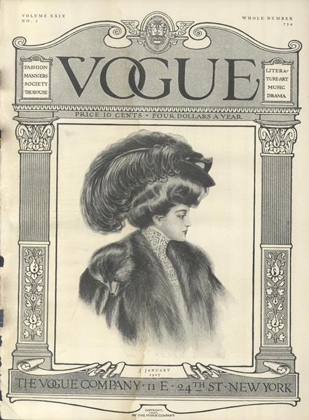 Issue: - January 3 1907 | Vogue