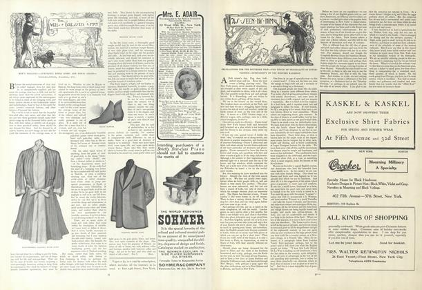 Article Preview: As Seen by Him, January 10 1907 | Vogue