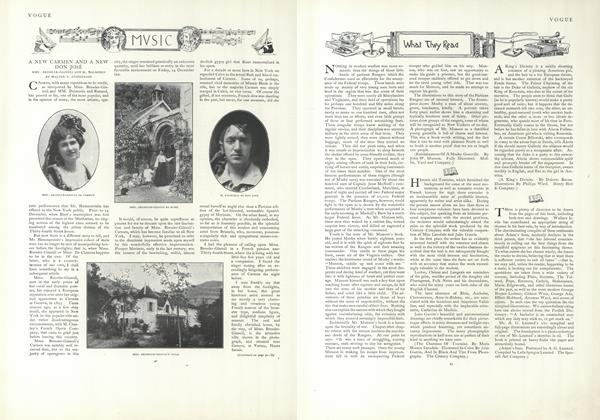 Article Preview: Music, January 10 1907 | Vogue