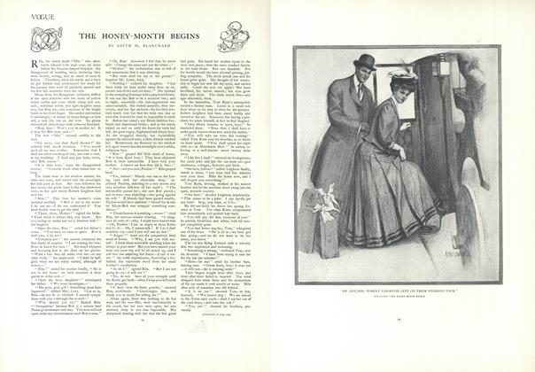 Article Preview: The Honey-Month Begins, January 17 1907 | Vogue