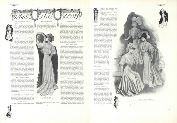 Article Preview: What She Wears, January 17 1907 | Vogue
