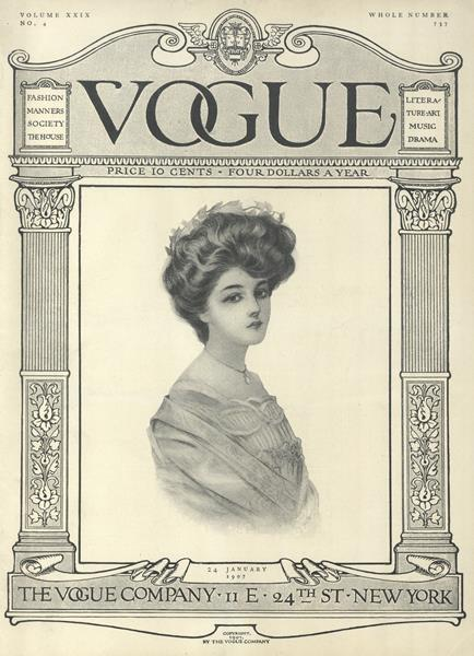 Issue: - January 24 1907 | Vogue