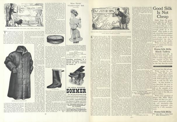Article Preview: As Seen by Him, January 24 1907 | Vogue