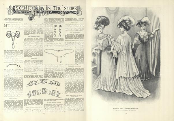 Article Preview: Seen in the Shops, January 24 1907 | Vogue