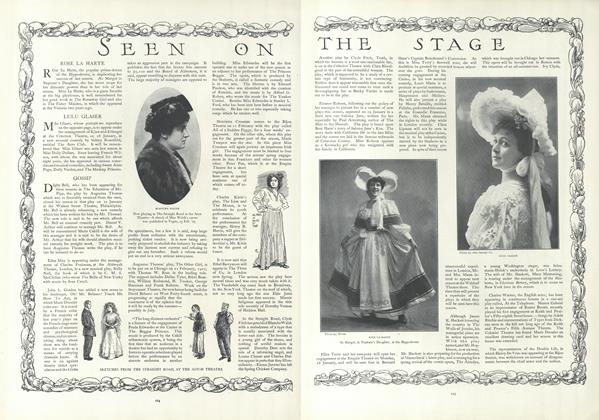 Article Preview: Seen on the Stage, January 24 1907 | Vogue