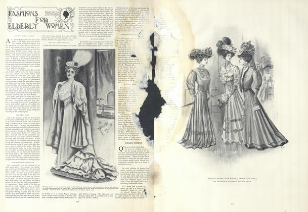 Article Preview: Fashions for Elderly Women, February 14 1907 | Vogue