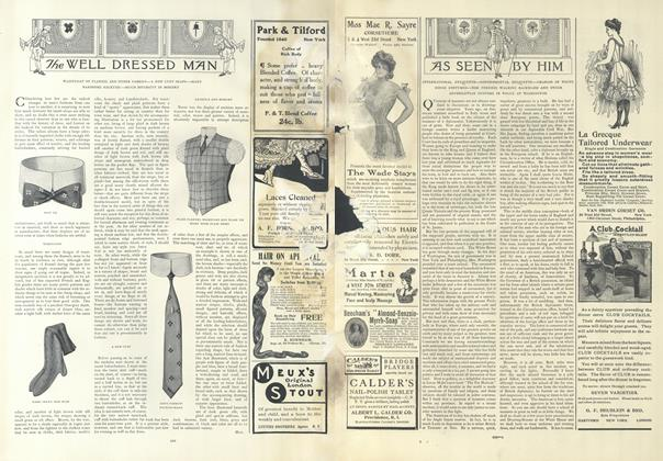 Article Preview: As Seen by Him, February 14 1907 | Vogue