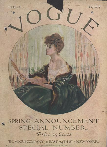 Issue: - February 21 1907 | Vogue