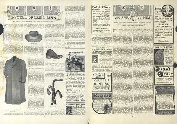 Article Preview: As Seen by Him, February 28 1907 | Vogue