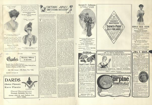Article Preview: Concerning Animals, February 28 1907 | Vogue
