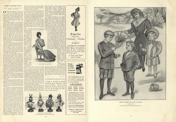 Article Preview: Unique Parisian Dolls, March 7 1907 | Vogue