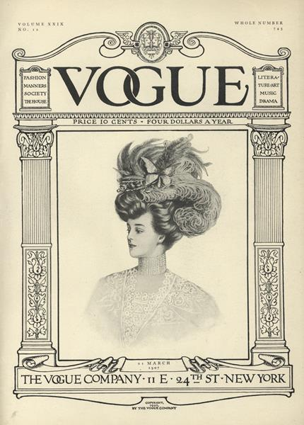 Issue: - March 21 1907 | Vogue