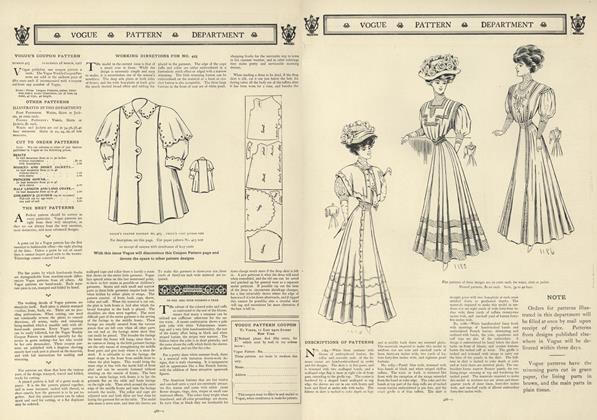 Vogue's Coupon Pattern