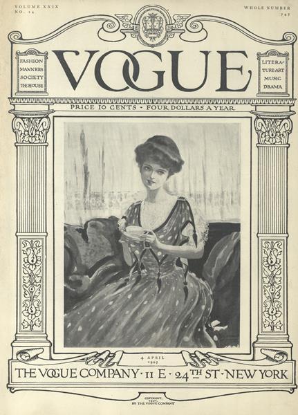 Issue: - April 4 1907 | Vogue