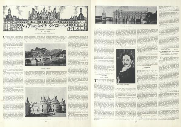 Article Preview: A Fortnight In Old Touraine, April 4 1907 | Vogue