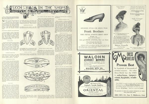 Article Preview: Seen in the Shops, April 4 1907 | Vogue