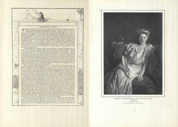 Article Preview: The Eclipse of a Trait, April 4 1907 | Vogue
