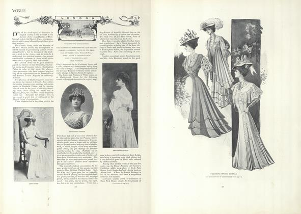 Article Preview: London, April 4 1907 | Vogue