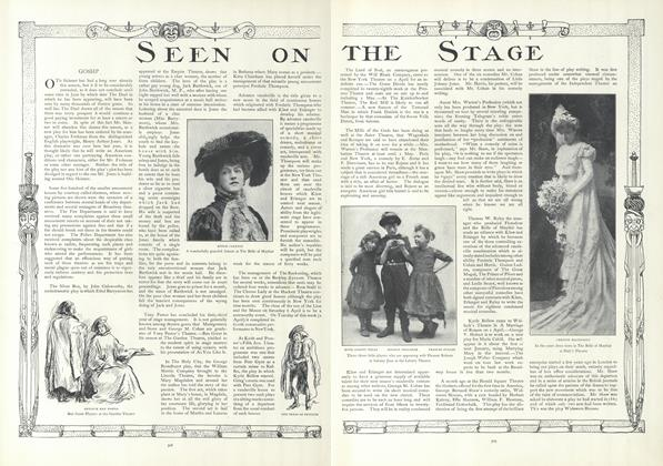 Article Preview: Seen on the Stage, April 4 1907 | Vogue