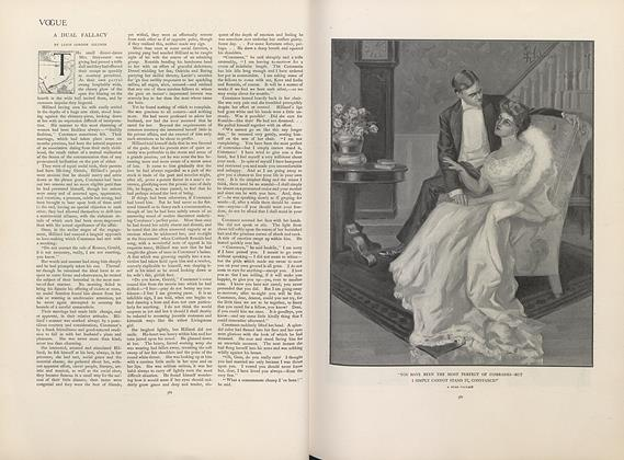 Article Preview: A Dual Fallacy, April 18 1907 | Vogue