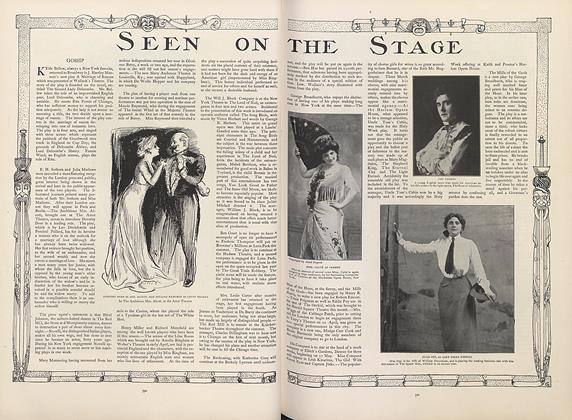 Article Preview: Seen on the Stage, April 18 1907 | Vogue
