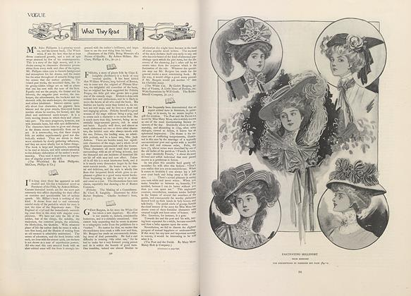 Article Preview: What They Read, April 18 1907 | Vogue