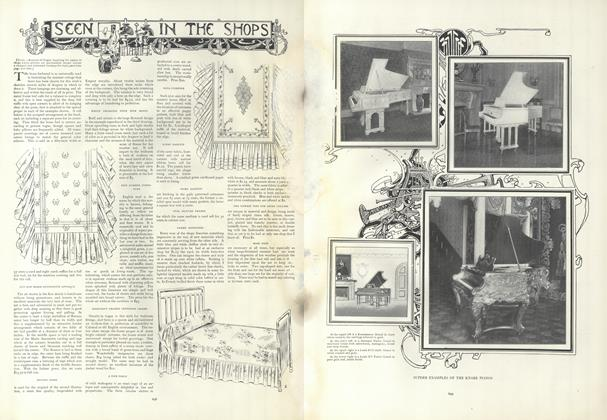 Article Preview: Seen in the Shops, April 25 1907 | Vogue