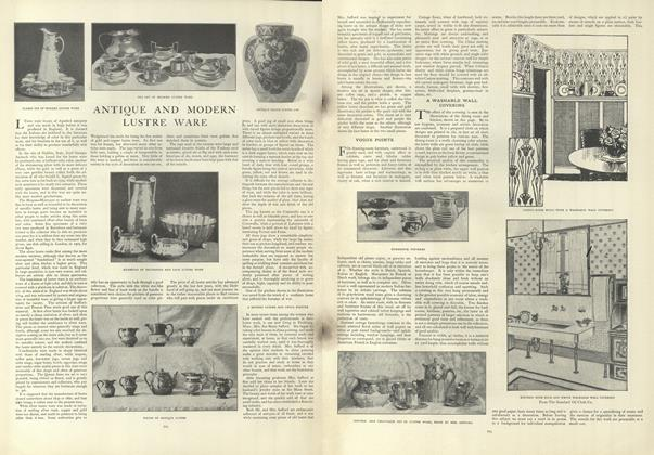 Article Preview: Antique and Modern Lustre Wear, April 25 1907 | Vogue