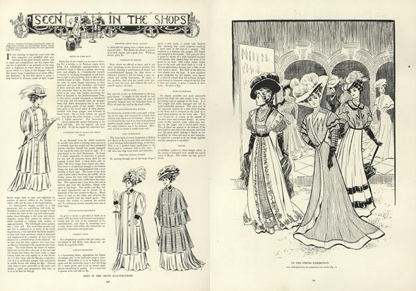 Article Preview: Seen in the Shops, May 16 1907 | Vogue