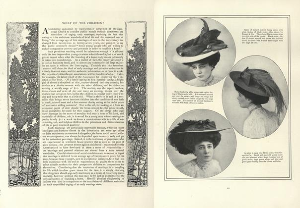 Article Preview: What of the Children?, May 16 1907 | Vogue