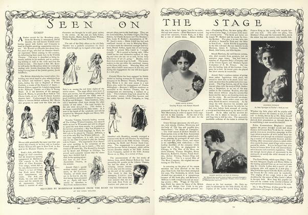 Article Preview: Seen on the Stage, May 16 1907 | Vogue
