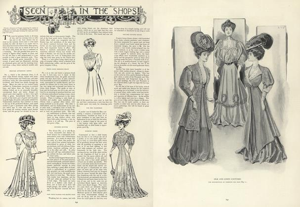 Article Preview: Seen in the Shops, May 30 1907 | Vogue