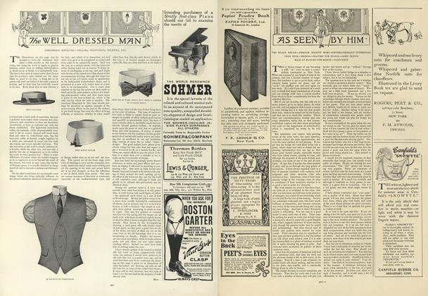 Article Preview: As Seen by Him, May 30 1907 | Vogue