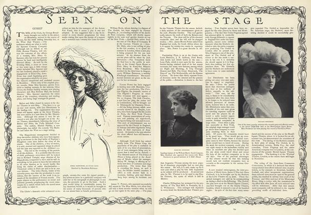 Article Preview: Seen on the Stage, May 30 1907 | Vogue