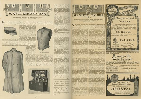 Article Preview: As Seen by Him, June 6 1907 | Vogue