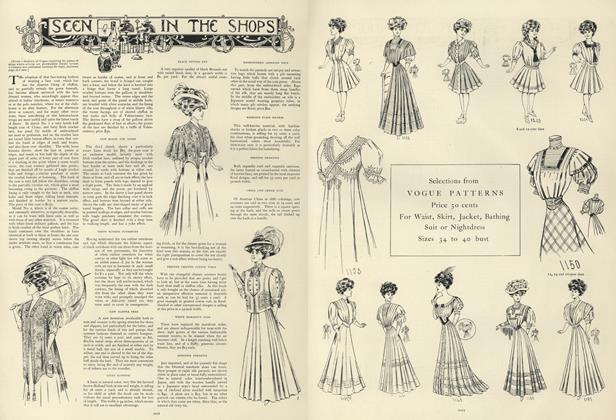 Article Preview: Seen in the Shops, June 27 1907 | Vogue