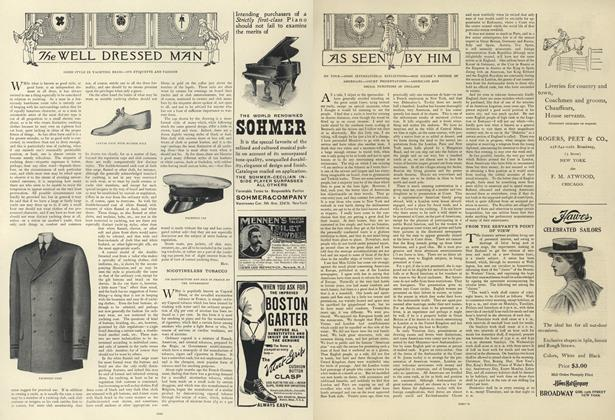 Article Preview: As Seen by Him, June 27 1907 | Vogue