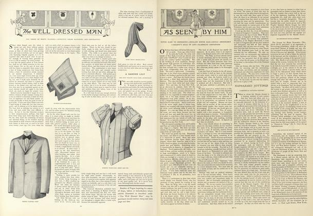Article Preview: As Seen by Him, July 4 1907 | Vogue