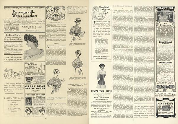 Article Preview: Honesty in Advertising, July 4 1907 | Vogue