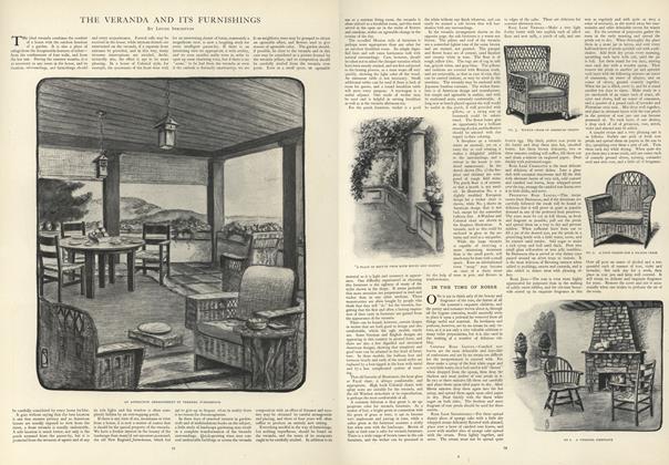 The Veranda and its Furnishings