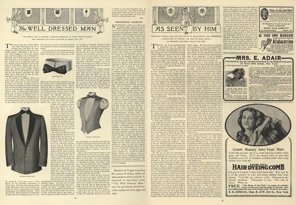 Article Preview: As Seen by Him, July 18 1907 | Vogue