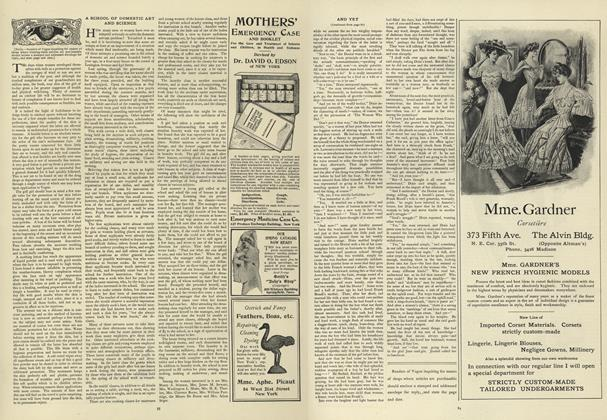 Article Preview: A School of Domestic Art and Science, July 18 1907 | Vogue
