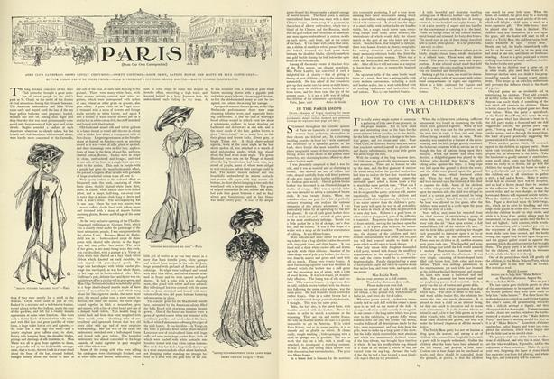 Article Preview: How to Give a Children's Party, July 18 1907 | Vogue