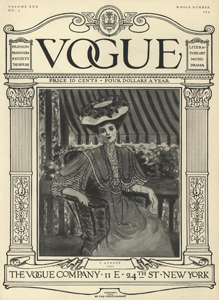 Issue: - August 1 1907 | Vogue