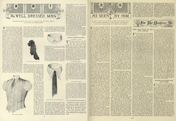 Article Preview: The Well Dressed Man, August 1 1907 | Vogue